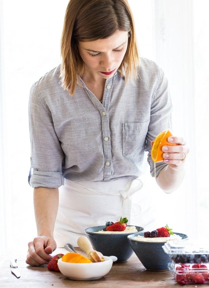 Christina Lane cookbook author