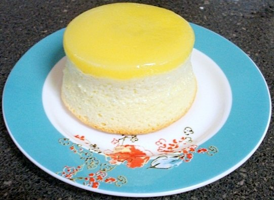 Citrus Buttermilk Pudding Cakes