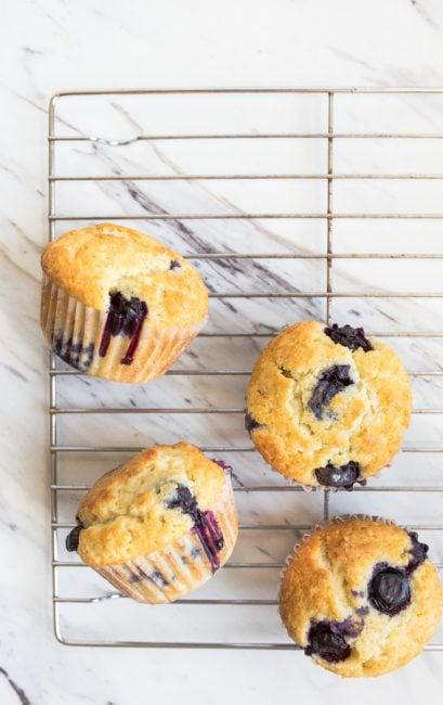 best blueberry muffins moist