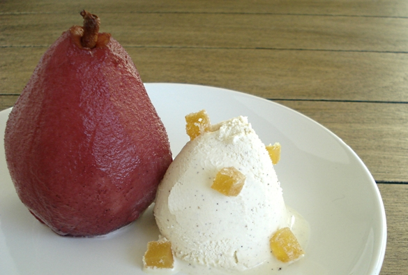 Pears in Mulled Wine | Dessert for Two