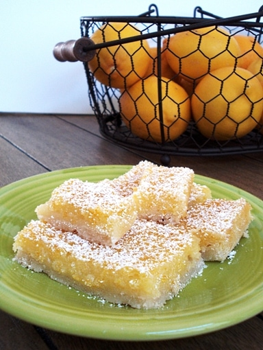 Lemon Bars recipe for two. Small batch lemon bars
