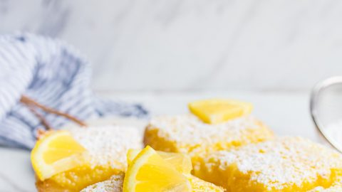 Lemon Bars Recipe (small batch)