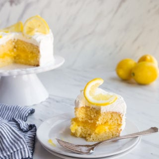 Lemon Cake Recipe for Two