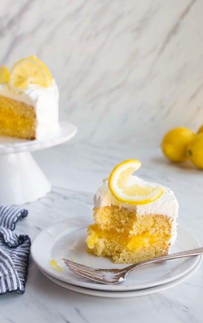 Lemon Cake Recipe for Two
