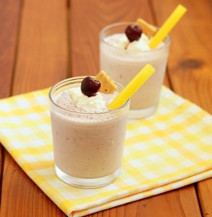 Cherry Pie Milkshakes