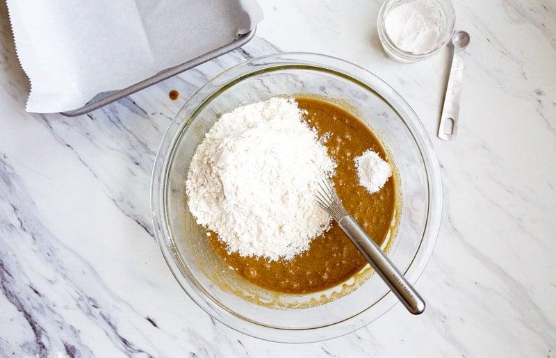flour for blondies recipe