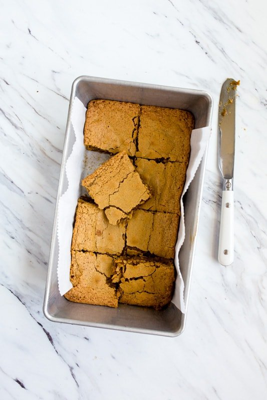 small batch blondies for two