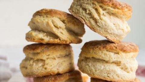 Small Batch Buttermilk Biscuits