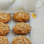 Sesame Date Breakfast Cookies