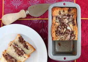 Marble Pound Cake for two - DessertForTwo.com