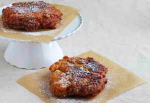 Apple Fritters - DessertForTwo.com