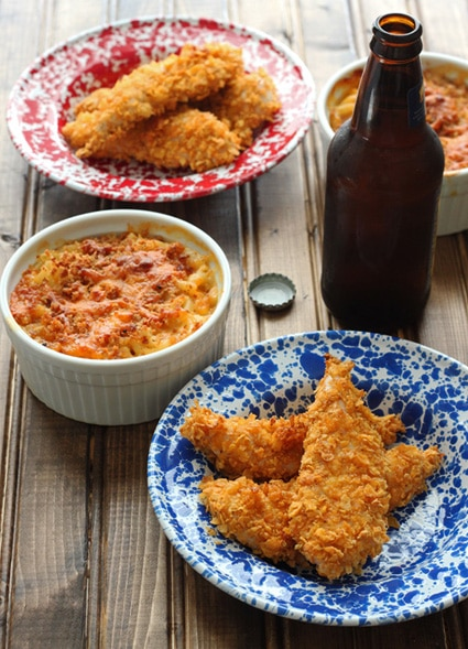 Dinner For Two: Chicken Fingers and Mac 'n Cheese