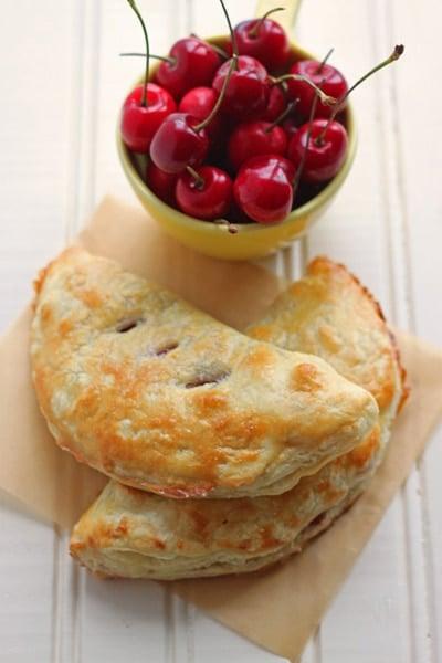 Fresh Cherry Hand Pies