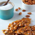Salted Almond Brittle (easy!)