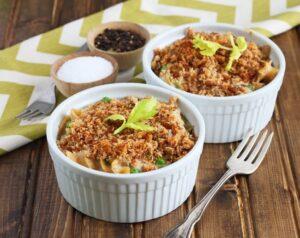 Tuna Noodle Casserole - DessertForTwo.com