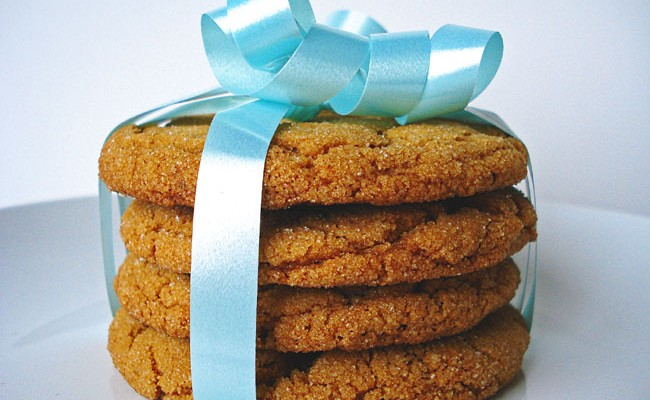 Soft + Chewy Gingersnaps
