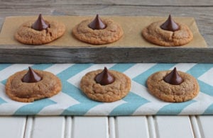 Peanut Butter Kisses {gluten free}