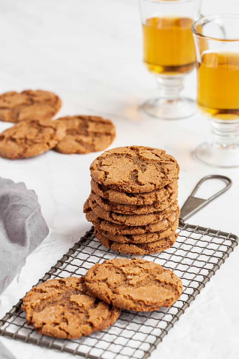 small batch gingersnaps