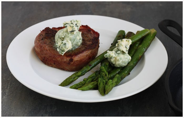 Steak and Bleu Cheese Dinner For Two - DessertForTwo.com