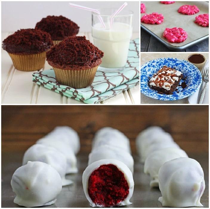 Valentines Day Desserts- DessertForTwo.com