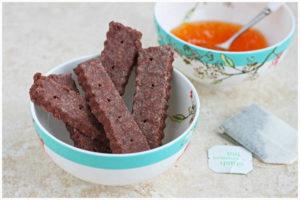 Chocolate Shortbread - DessertForTwo.com