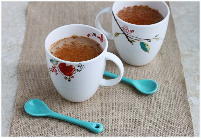Coconut Chai for two - DessertForTwo.com