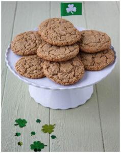 Irish Whiskey Oatmeal Cookies - DessertForTwo.com