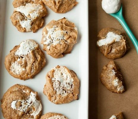 Marshmallow-Peanut-Butter-Cookies