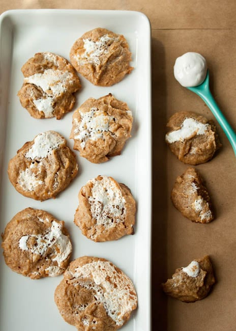 Marshmallow-Peanut-Butter-Cookies