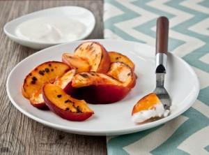 Peaches and Cream for two | DessertForTwo.com