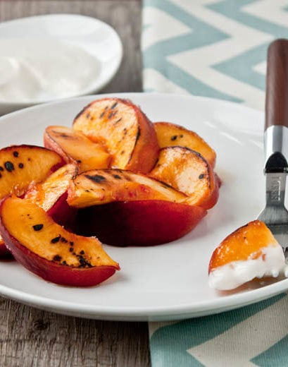 Peaches and Cream for two | DessertForTwo.com