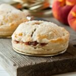 Mason Jar Lid Pies: Spiced Peach