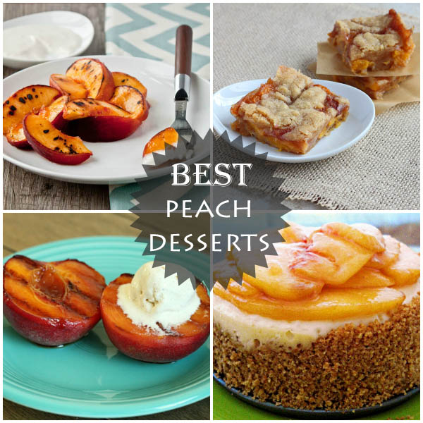 The best peach desserts