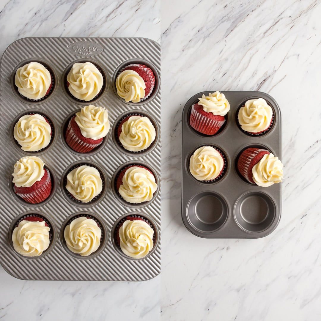 how to scale down cupcake recipe