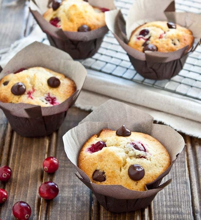 Dark-Chocolate-Cranberry-Orange-Muffins-3