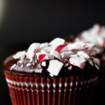 Chocolate Peppermint Crunch Cupcakes {cake mix}
