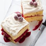 Cranberry Vanilla Dream Cake {cake mix chronicles}