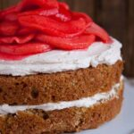 Red Hot Cinnamon Apple Cake