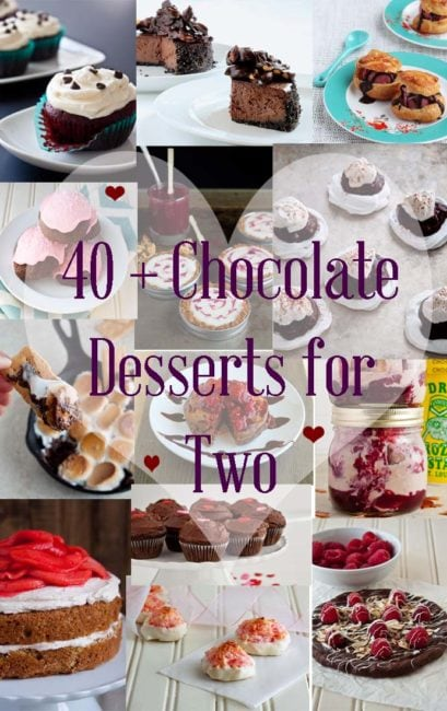 Chocolate Desserts for Two