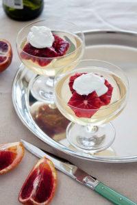 Moscato Gelée (WINE JELLO)