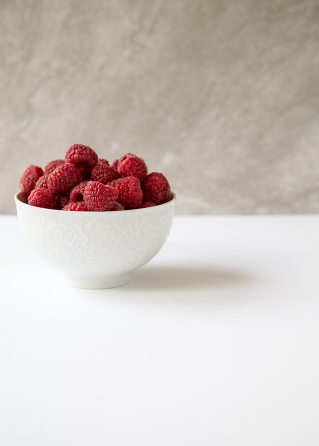 Raspberry Rose Sundaes | dessertfortwo.com