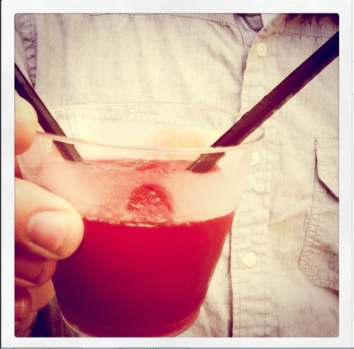 Wine Slushy @dessertfortwo