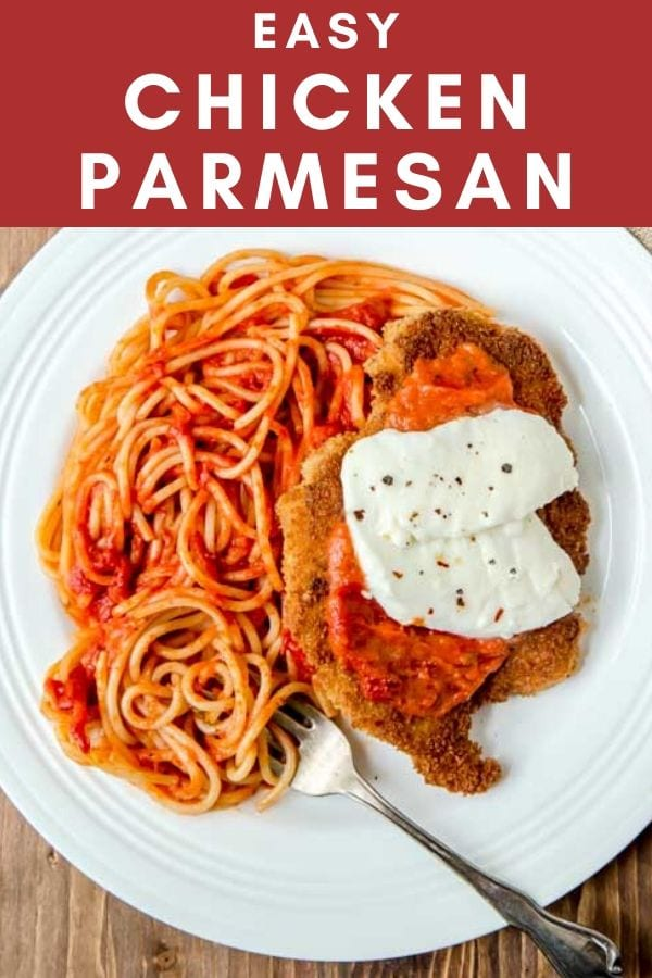 Easy Chicken Parmesan For Two Best Recipe For Chicken Parmesan