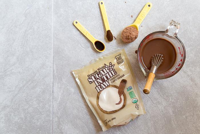 Easy chocolate ice cream recipe @dessertfortwo