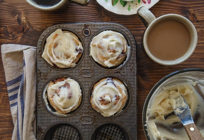 Cinnamon Rolls For Two Quick And Easy No Yeast Dessert For Two