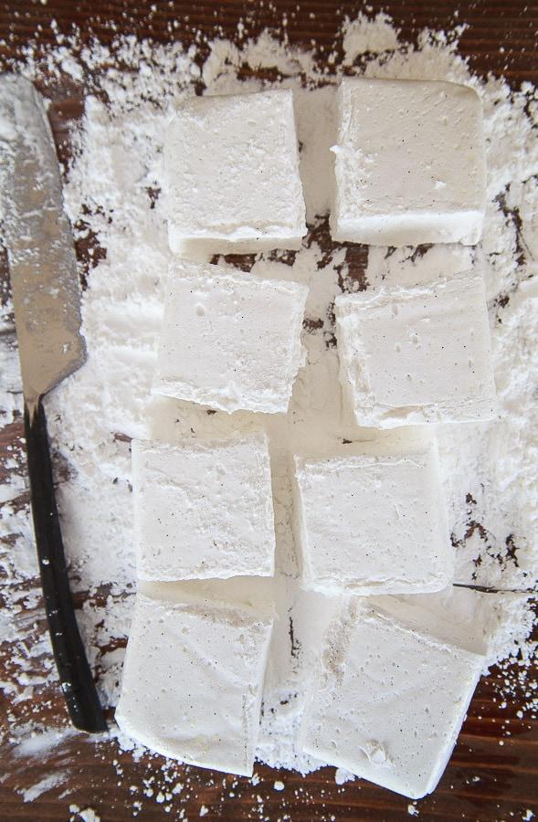 A small batch of marshmallows! @dessertfortwo