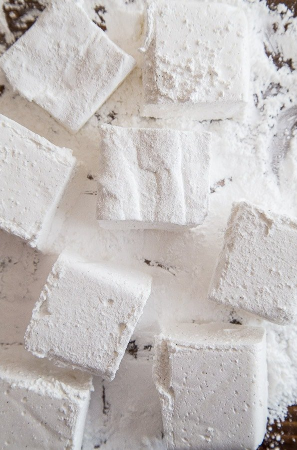 Homemade vanilla bean marshmallows @dessertfortwo