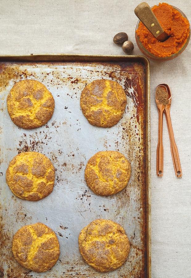 Pumpkin Snickerdoodles @dessertfortwo