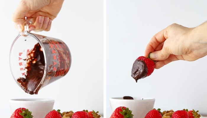 Microwave Fondue Recipe for One @dessertfortwo