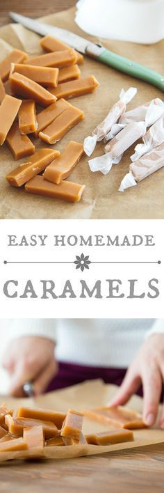 Homemade caramels from scratch, for a fun homemade holiday gift-giving!Surprisinglyeasy with one special tool!